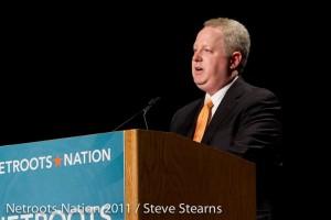 Adam Bonin speaking at Netroots 2011